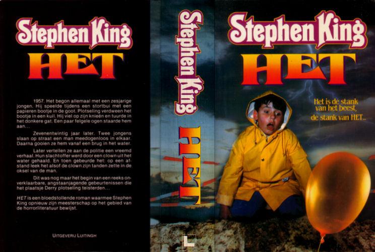 Boek Het It Stephen King Fanclub